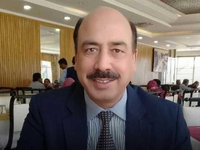 مریم نوازنے ایک پریس کانفرنس کے دوران احتساب عدالت کے جج ارشد ملک کی مبینہ ویڈیوجاری کی تھی : فوٹو: فائل