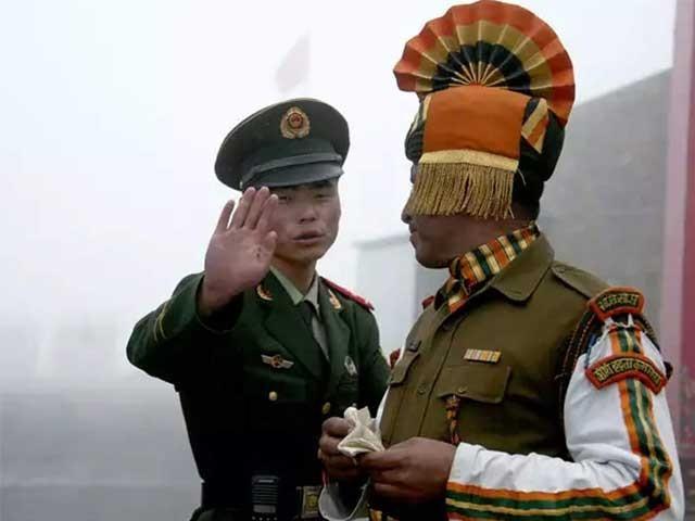 بھارتی فوج کی جانب سے لداخ کے علاقے میں دراندازی پر چینی فوج سے تصادم ہوا فوٹو:فائل
