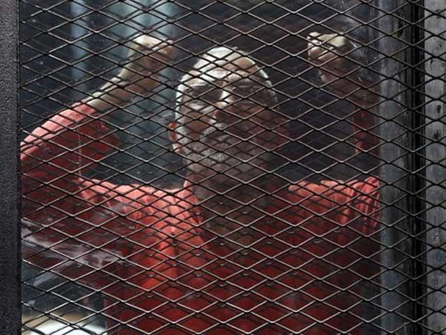 محمد بدیع سمیت اخوان کے 11 رہنماؤں پر جاسوسی اور دہشت گردی کے الزامات عائد کیے گئے فوٹو:فائل