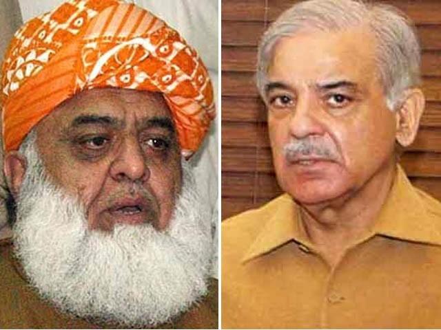 ملاقات میں ملک کی سیاسی صورتحال اور اسلام آباد میں دھرنے اور دیگر امور پر غور کیا گیا (فوٹو: فائل)