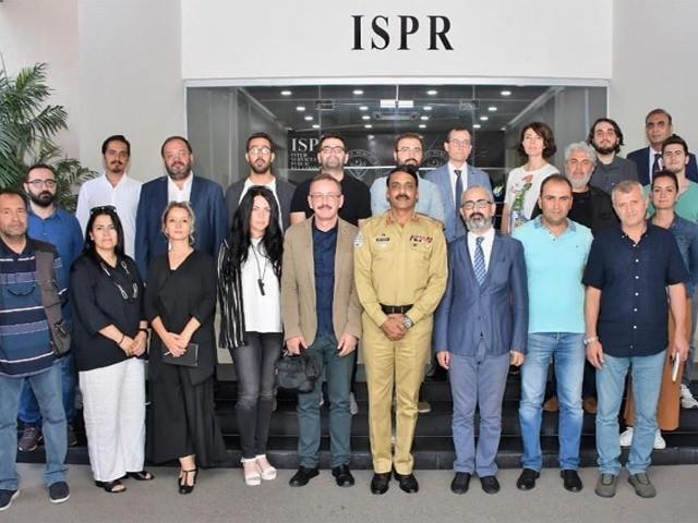 صحافیوں کا گروپ 18 ستمبر کو مظفرآباد اورچکوٹھی کا دورہ کررہا ہے، ترجمان پاک فوج۔ فوٹو:آئی ایس پی آر