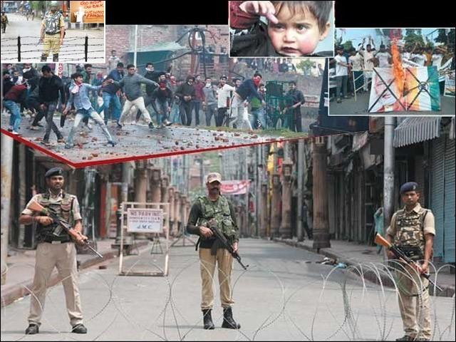 عالمی برادری ہوش کے ناخن لے اور مقبوضہ کشمیر میں ہونے والے مظالم سے بھارت کو روکے۔ (فوٹو: انٹرنیٹ)