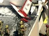 طیارے میں دو افراد سوار تھے۔ فوٹو : امریکی میڈیا