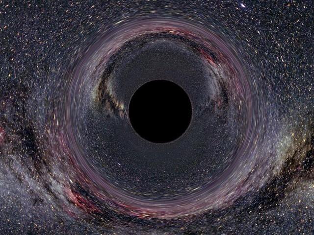 ہوسکتا ہے کہ ہمارے نظامِ شمسی کا گمشدہ وجود کوئی سیارہ نہ ہو بلکہ کوئی بلیک ہول ہو۔ (فوٹو: ناسا/ جے پی ایل)