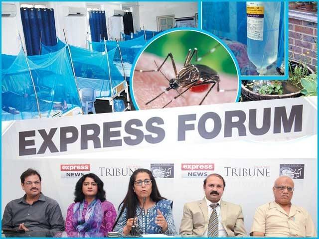 ماہرین صحت، حکومت اور سول سوسائٹی کے نمائندوں کا ''ایکسپریس فورم'' میں اظہار خیال