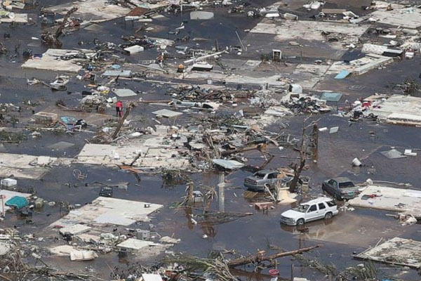 Bahamas Hurricane Dorain 1