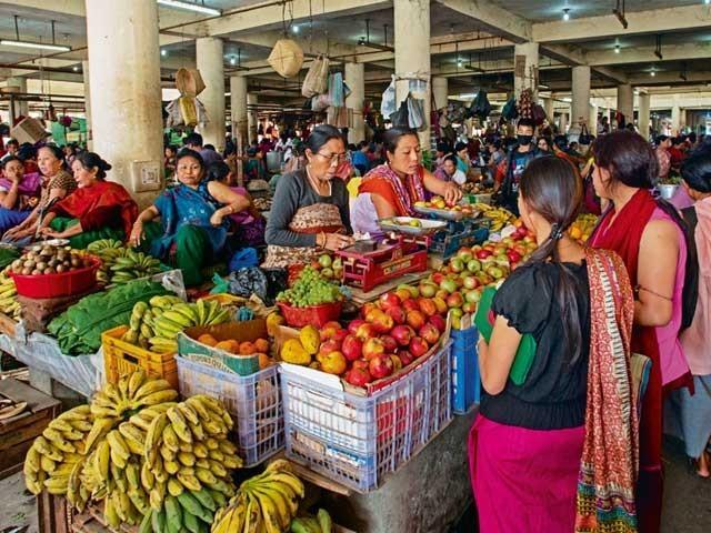 'مانی پور' کی یہ 'دکان نگری' برطانوی راج کے سامنے بھی سرنگوں نہ ہوئی!۔ فوٹو: فائل