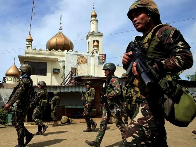 داعش اور مورو اسلامی لبریشن فرنٹ کے جنگجوؤں کے درمیان جھڑپ کے بعد علاقے میں کشیدگی ہے۔ فوٹو : فائل