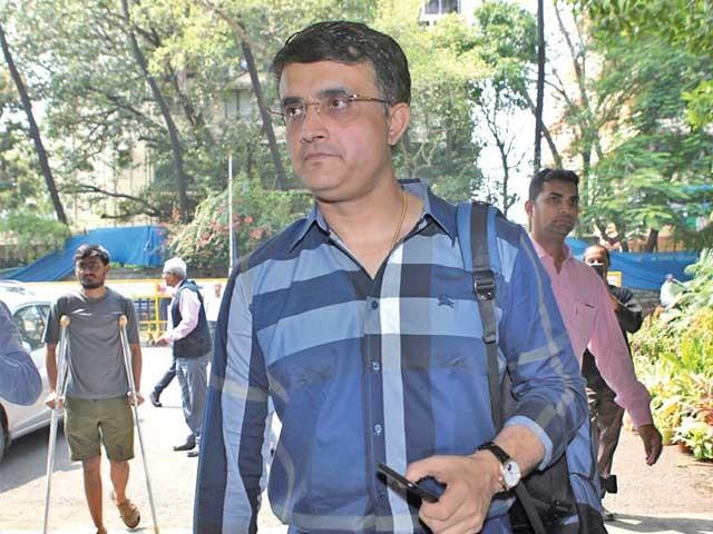 گنگولی نے آئی سی سی سے زیادہ ریونیو کے حصول کو بھی اپنا ٹاپ ایجنڈا قرار دیا۔ فوٹو: فائل