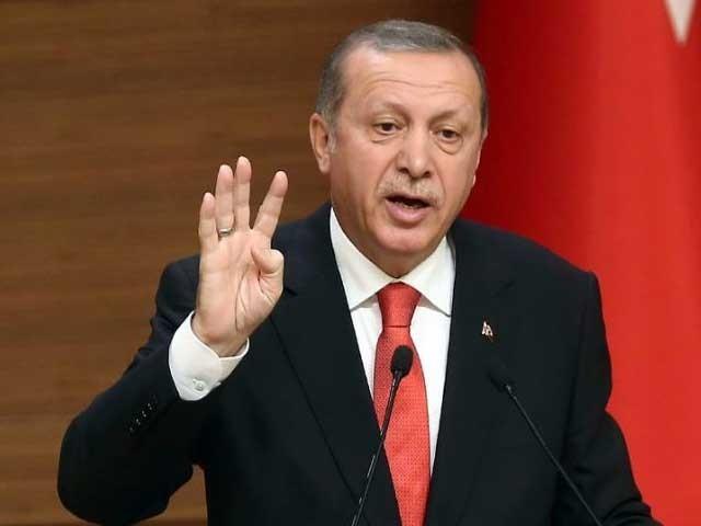 کرد فورسز کو سرحدی علاقہ فوری طور پر خالی کردینا چاہیے, ترک صدر