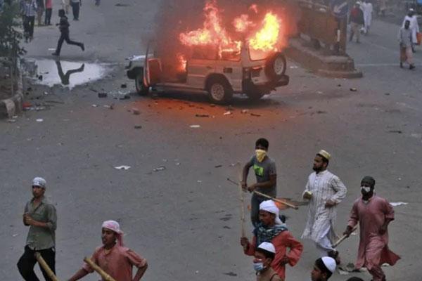 Bangladesh Balsphemy Protest 1