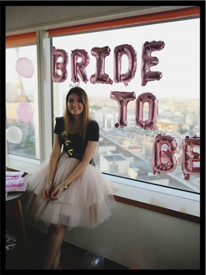 Sania mirza sister wedding azher uddin son