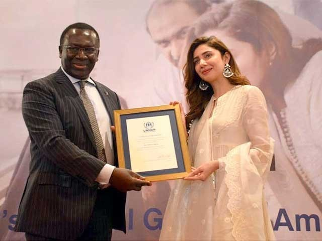 پاکستان چار دہائیوں سے چالیس لاکھ افغان مہاجرین کی مدد کر رہا ہے، ماہرہ خان۔ فوٹو: آئی این پی
