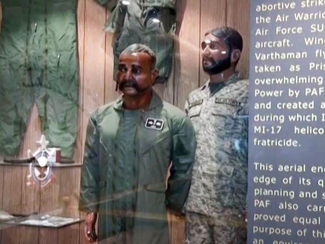 ابھی نندن گیلری کا افتتاح ایئرچیف نے 6 نومبر کوکیا: فوٹو: اسکرین گریب