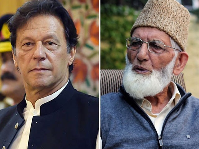 پاکستان دو طرفہ معاہدوں شملہ، تاشقند اور لاہور معاہدے سے دستبردار ہونے کا اعلان کرے، سید علی گیلانی۔ فوٹو : فائل