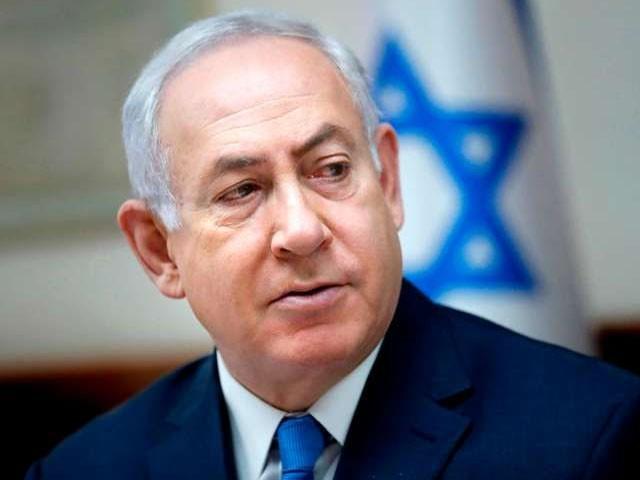 نیتن یاہو کے دھمکی کے بعد اسرائیلی فوج کے میزائل حملوں میں شدت آگئی ہے۔ فوٹو : فائل