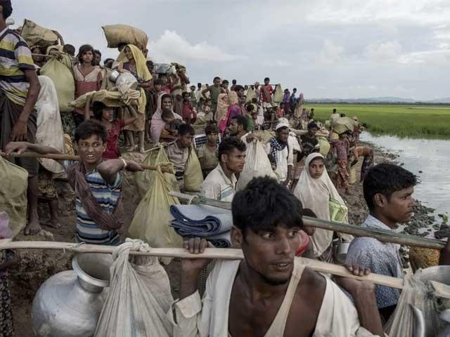 روہنگیا مسلمانوں کیخلاف کی گئی کارروائی جرائم کے زمرے میں آتی ہے، عالمی عدالت - فوٹو: اے ایف پی