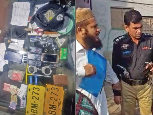 ملزم اسلم اورڈرائیور زبیر کیخلاف شہریوں کی شناخت کے بعد مقدمات درج۔ فوٹو: ایکسپریس