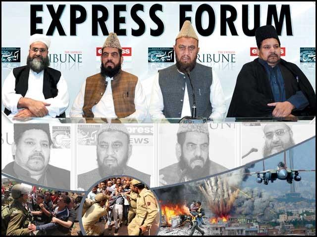 ''حضرت محمدﷺ کی تعلیمات کی روشنی میں عالم اسلام کو درپیش چیلنجزکا حل'' کے موضوع پر منعقدہ ''ایکسپریس فورم'' کی رپورٹ