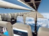 یہ ٹچ اسکرینز طیارے کے باہر لگے کیمروں سے منسلک ہوں گی جو کہ باہر کا حقیقی منظر ہرنشست پر پیش کریں گی، فوٹو: فائل