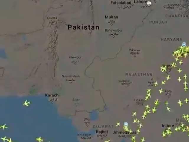 ایئر ٹریفک کنٹرولرکی فوری مداخلت پر طیارے کو واپس جانا پڑا: فوٹو: فائل