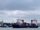 بحری جہاز ہالینڈ سے برطانیہ جا رہا تھا۔ فوٹو : فائل