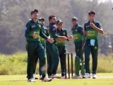 پاکستان کی جانب سے عمیر یوسف 66، سیف بدر 47 جب کہ حیدر علی نے 43 رنز کی اننگز کھیلی۔ فوٹو : پی سی بی