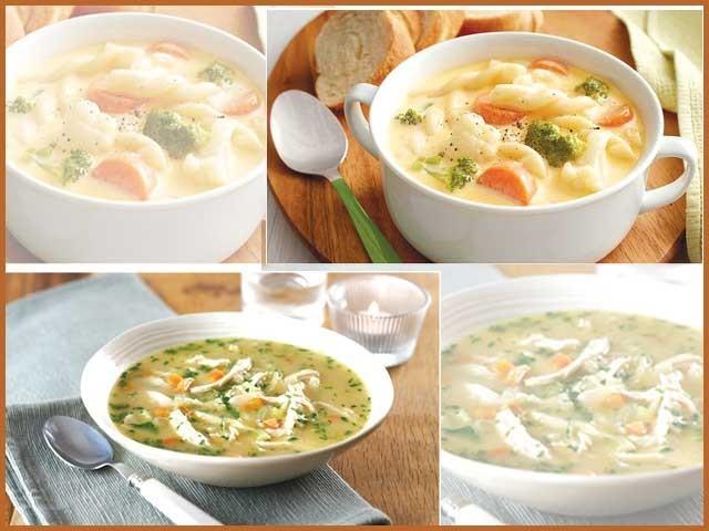 بنائیے اپنی پسند کے مزیدار سوپ۔