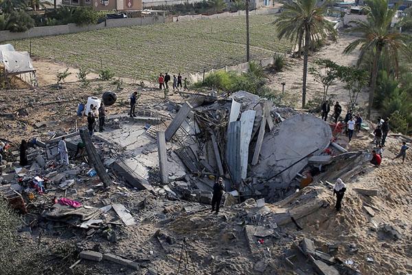 Israel Attack On Palestine