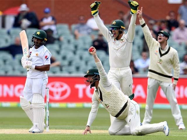 2 میچز کی ٹیسٹ سیریز میں آسٹریلیا کو پہلے ہی ناقابل شکست برتری حاصل ہے۔ فوٹو : اے ایف پی