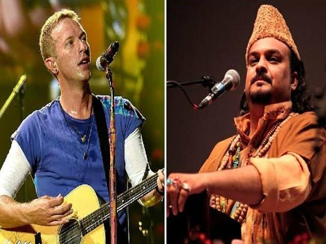 البم میں امجد صابری کی آواز بھی شامل ہوگی (فوٹو : فائل )