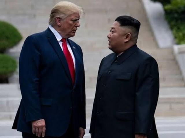 شمالی کوریا کیخلاف فوجی کارروائی خارج از امکان نہیں۔ صدر ٹرمپ (فوٹو : فائل)