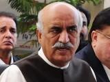 خورشید شاہ کو نیب نے ستمبر میں اسلام آباد سے گرفتار کیا تھا فوٹو: فائل