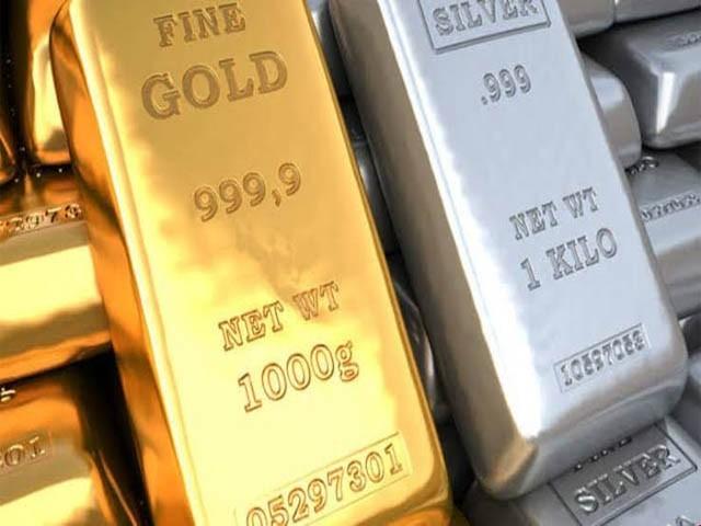 عالمی بازار میں سونا 15 ڈالر سستا ہوکر 1460 ڈالر فی اونس کا ہوگیا۔ فوٹو:فائل