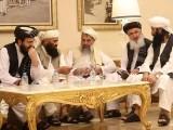 امریکی نمائندے زلمے خلیل زاد نے طالبان نمائندوں سے ملاقات کی۔ فوٹو : فائل