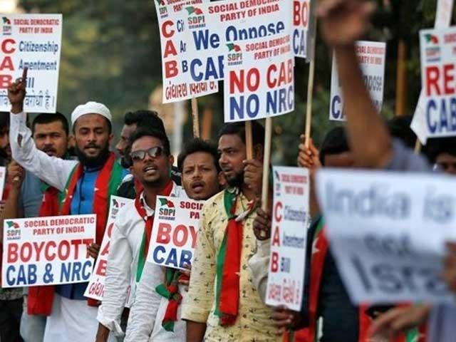 سوائے مسلمانوں کے ہندوؤں سمیت 6 مذاہب کے تارکین وطن کو شہریت دینے کا متنازع بل منظور فوٹو:انٹرنیٹ