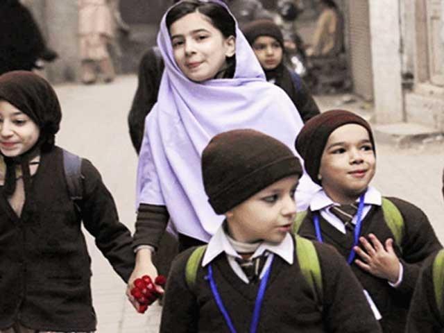 چھٹیوں کے بعد اداروں میں تعلیمی سرگرمیاں یکم جنوری کو بحال ہوں گی۔ فوٹو: فائل