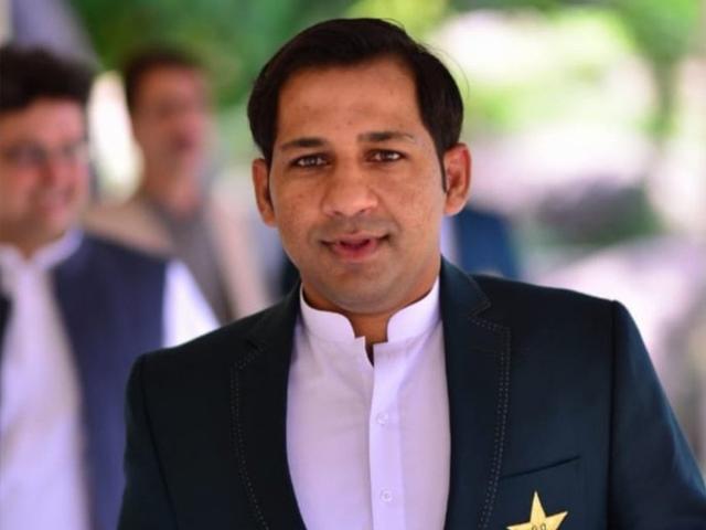پاکستان میں10برس بعد ٹیسٹ کرکٹ کی واپسی خوش آئند ہے،سرفراز احمد ۔فوٹو: فائل