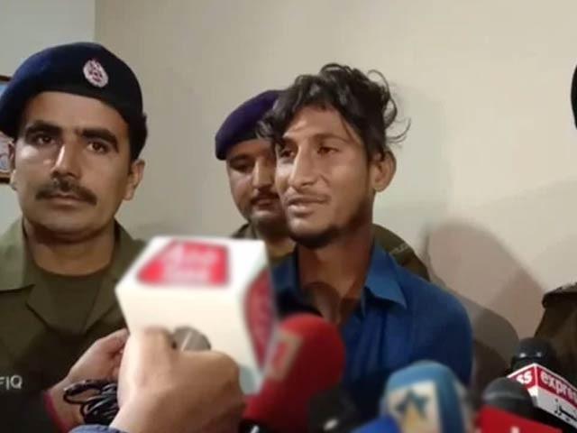 پولیس نےمقامی عدالت سے ملزم کا 4 روزہ جسمانی ریمانڈ بھی حاصل کرلیا ۔ فوٹو : سوشل میڈیا