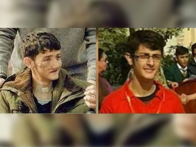 آج بھی لندن میں زیر علاج، 13 سرجریوں سے چہرہ بدل گیا، خون کے آخری قطرے تک نہیں جھکوں گا، طالبعلم ولید (فوٹو: فائل)
