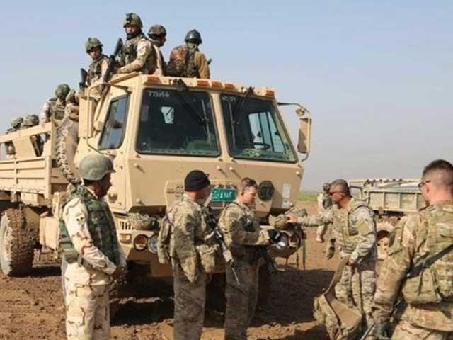 نیٹو نے عراق میں  ٹریننگ آپریشن کو بھی وقتی طور پر معطل کردیا ہے۔ -فوٹو: فائل