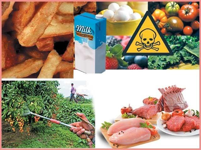 کیمیکلز اور جینیاتی تبدیلیوں والی غذائیں موٹاپا، قبض، شوگر،نیند کی خرابی اورامراض قلب سمیت سنگین مسائل پیدا کررہی ہیں