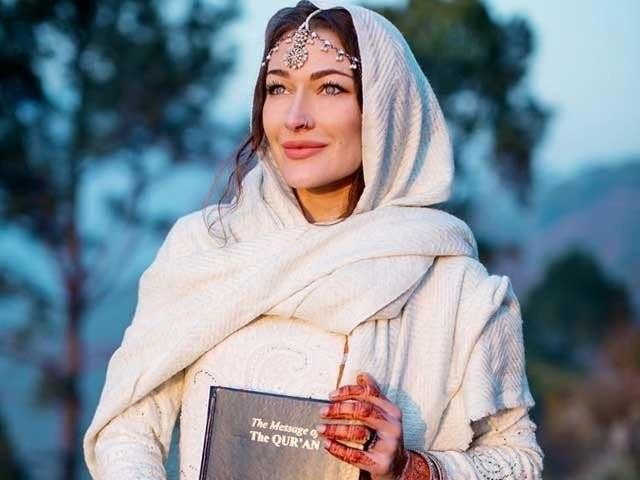 روزی گبریئل نے پاکستان کا دورہ کرنے کے بعد حال ہی میں اسلام قبول کیا تھا۔ فوٹو: فائل