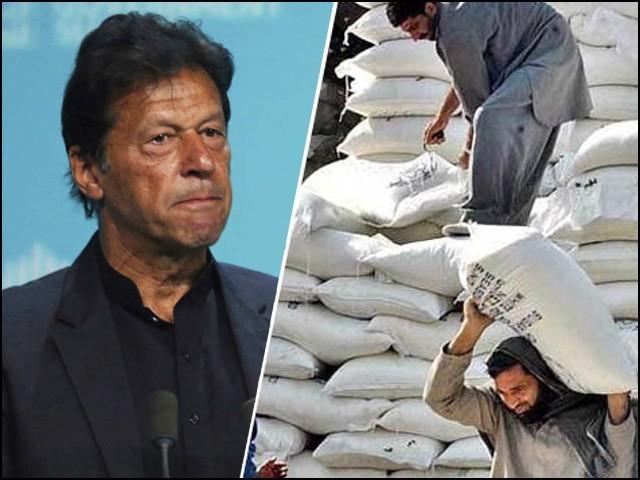 حکومت نے گزشتہ سال ملکی ضروریات سے اضافی پانچ لاکھ ٹن گندم برآمد کرنے کا فیصلہ کیا تھا۔ (فوٹو: فائل)
