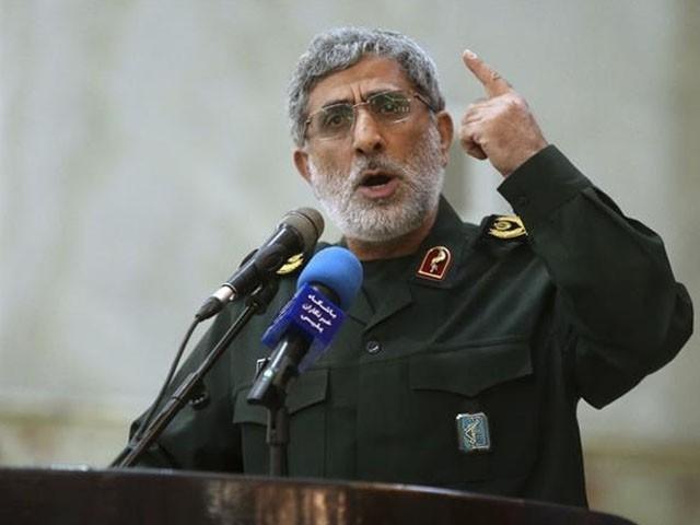 جنرل قاسم سلیمانی کے قتل کا بدلا لیں گے، سربراہ قدس فورس (فوٹو: فائل)