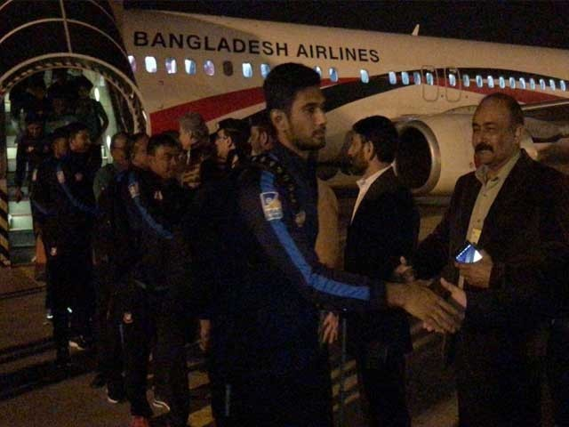 پاکستان اور بنگلادیش کے درمیان پہلا ٹی ٹوئنٹی جمعے کو دوپہر 2 بجے کھیلا جائے گا ۔ فوٹو : سوشل میڈیا