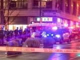 فائرنگ کے بعد نامعلوم شخص فرار ہونے میں کامیاب ہوگیا جس کی تلاش جاری ہے، پولیس - فوٹو: اے پی