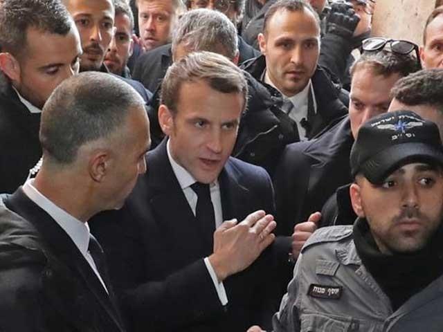 قوانین کا احترام کرو اور یہاں سے باہر جاو، فرانسیسی صدر