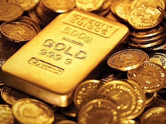 چاندی کی قیمت بھی 30 روپے کمی کے ساتھ 1000 روپے ہوگئی (فوٹو : فائل)