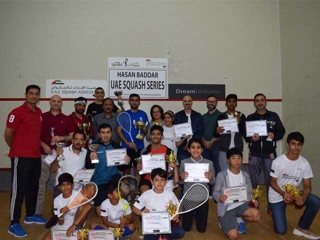 فضا، یوسف اور نعیم نے حسن بدریو اے ای سیریز2020 میں مختلف ٹائٹلز جیت لیے